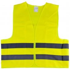 Colete reflector amarelo