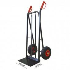 Carrinho de mão 2 rodas básico de aço
