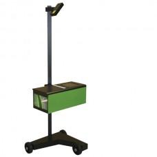 Alinhador de faróis com duplo Laser e Luxómetro