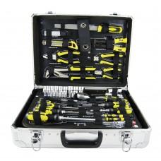 Cx de ferramentas de 3/8 e 1/4 c/108pçs