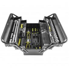 Caixa ferro de ferramentas 64pçs