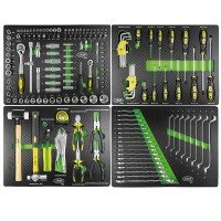 Conjunto de 4 modulos de ferramentas