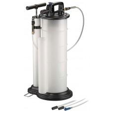 Extractor de óleo e líquidos manual e pneumática 8litros