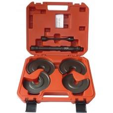 Compressor de molas de amortecedores de forquilha traseira com abertura de menos de 30mm