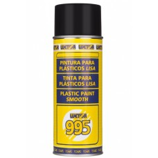 WETOR 995 - TINTA PARA PLÁSTICOS LISA SPRAY PRETO (400 ML)