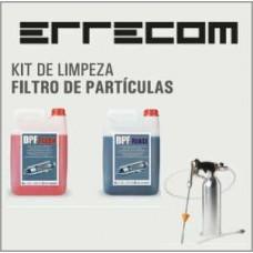 Kit de limpeza de filtros de particulas