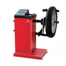 Equilibradora de pneus para motas
